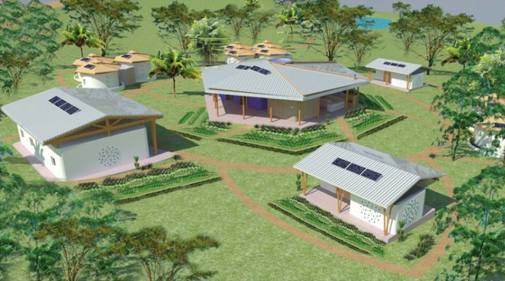 3D Model of Eco-CASA's new center